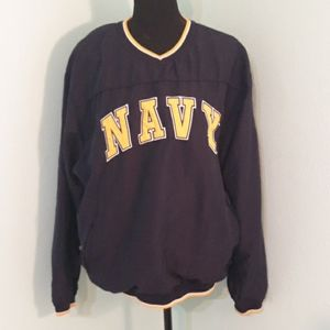 Military NAVY pullover light weight jacket